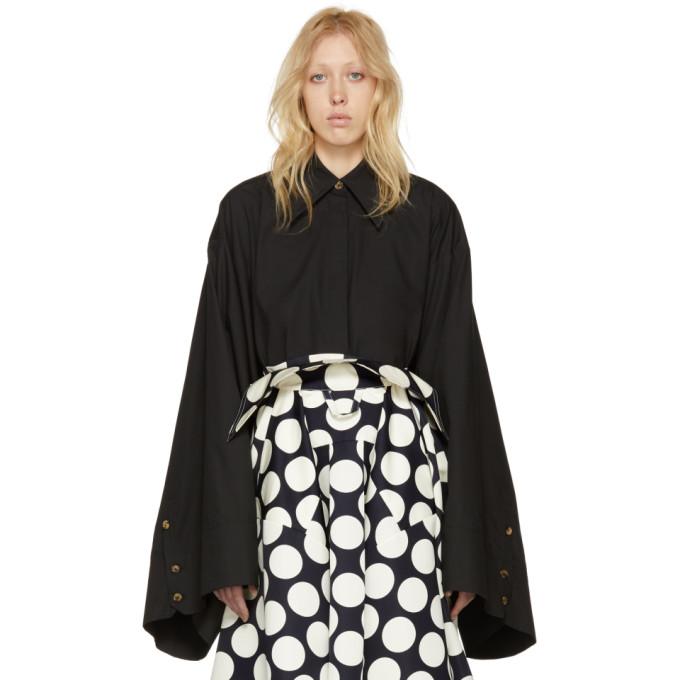 Image of A.W.A.K.E. Black Kimono Sleeve Shirt
