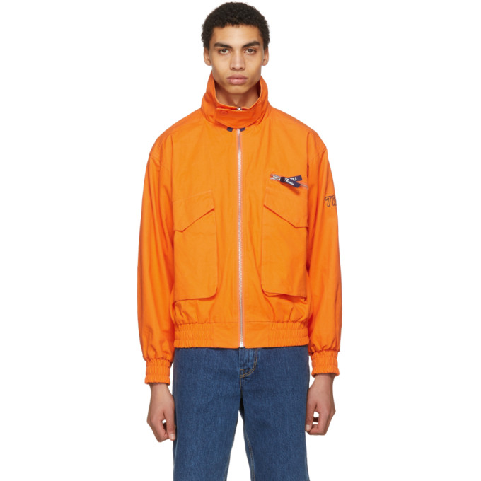 Image of Thames Reversible Orange Adventurous Jacket