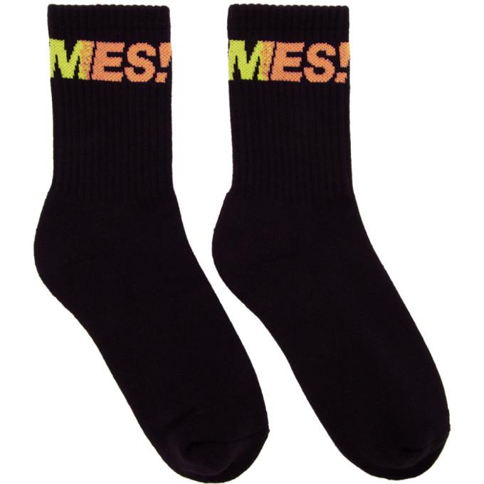 Image of Thames Black Fantastic Socks