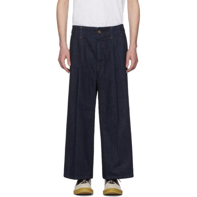 Wheir Bobson Indigo Baggy Jeans