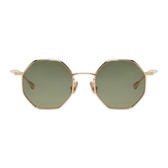 Image of Native Sons Gold Giger Sunglasses