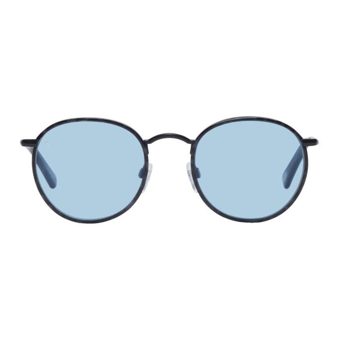 Image of RAEN Black Benson 51 Sunglasses