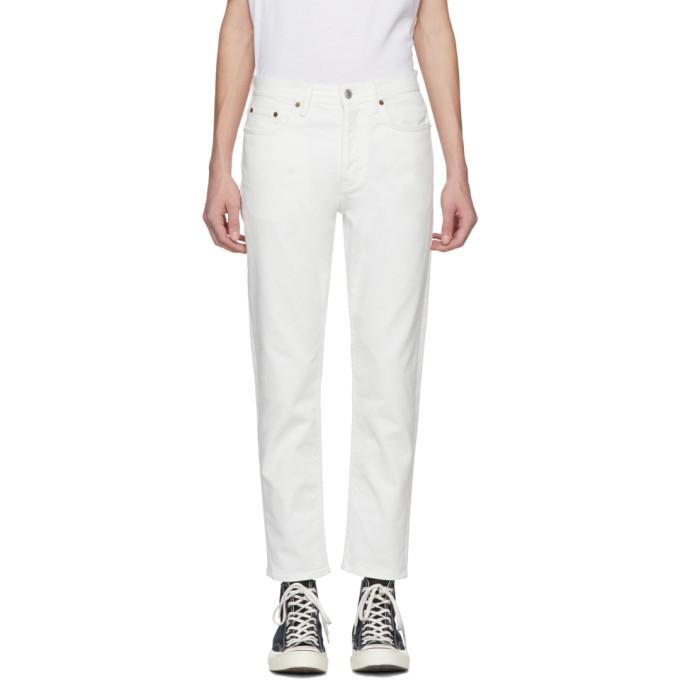 Acne Studios Blå Konst White River Jeans