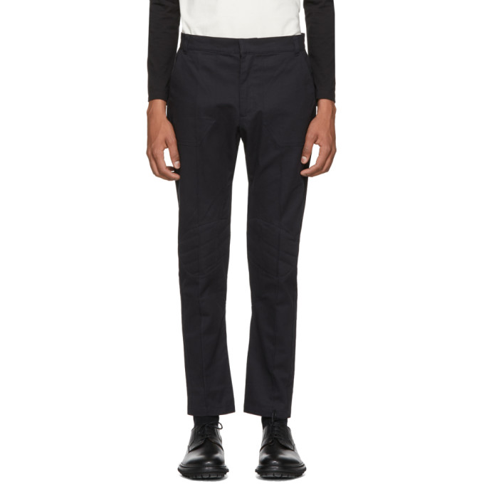 Image of St-Henri SSENSE Exclusive Black Racing Trousers