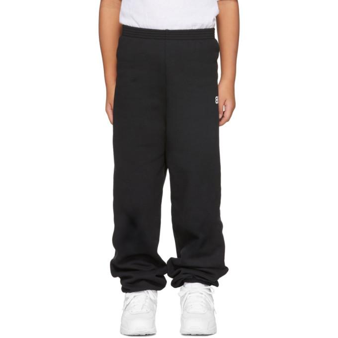 Image of Balenciaga Boy Black 'BB' Lounge Pants