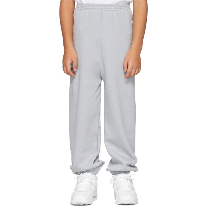 Image of Balenciaga Boy Grey 'BB' Lounge Pants
