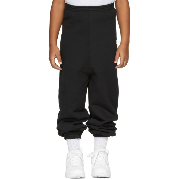 Image of Balenciaga Girl Black 'BB' Lounge Pants