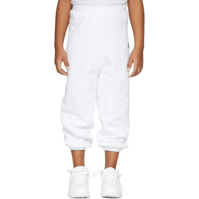 Image of Balenciaga Girl White 'BB' Lounge Pants