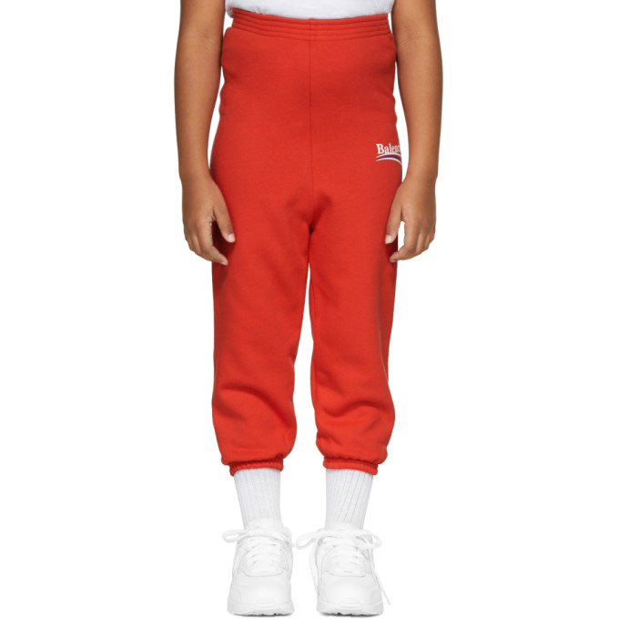 Image of Balenciaga Girl Red Campaign Logo Lounge Pants