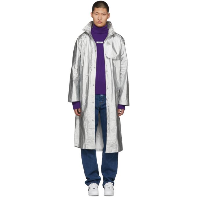 Image of ADER error Silver Dazzler Rain Coat