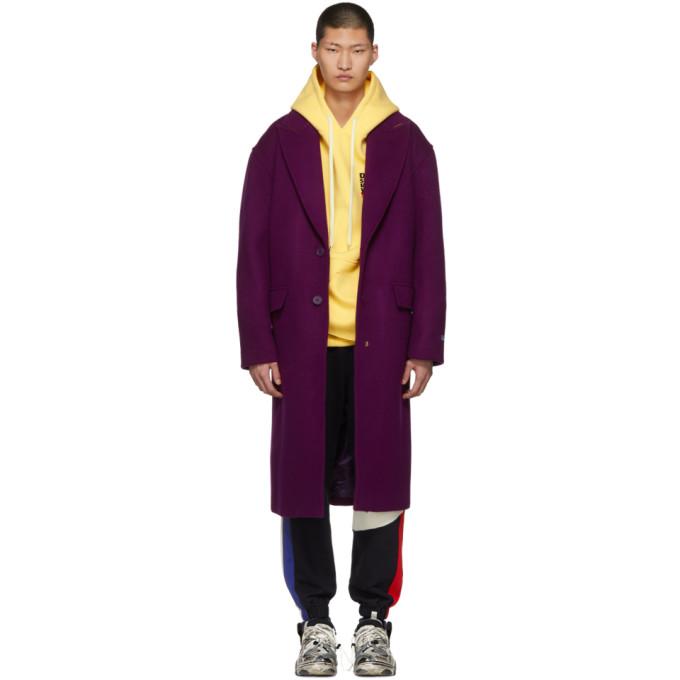 ADER error Purple Single Point Coat