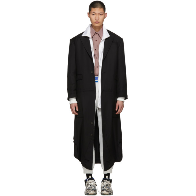 Image of ADER error Black Fusion Double Coat