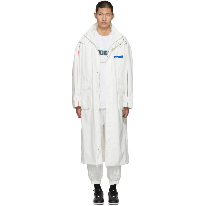 ADER error White Gundam Rain Coat