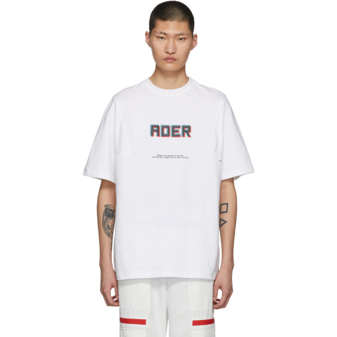 Image of ADER error White Angle T-Shirt