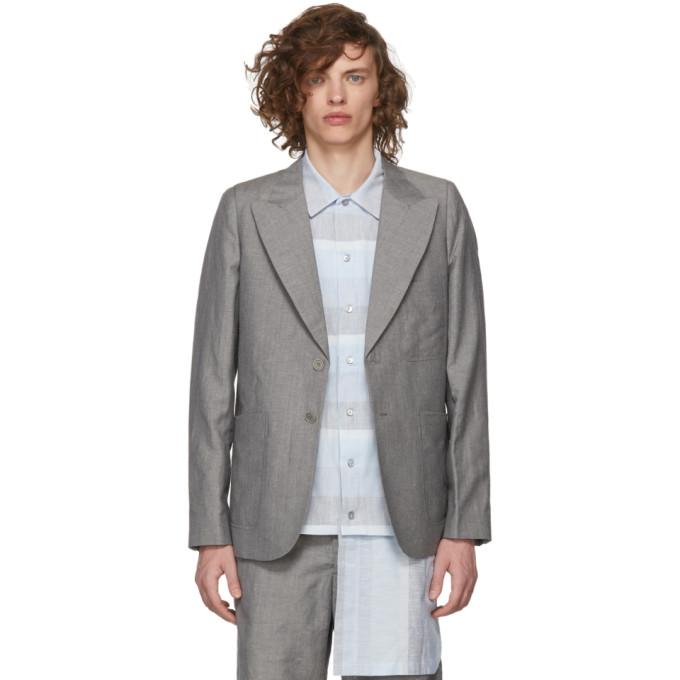 House of the Very Islands Blazer ajuste gris Tailored
