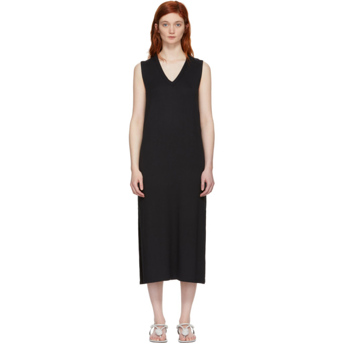 Rag & Bone Black Phoenix V-Neck Dress