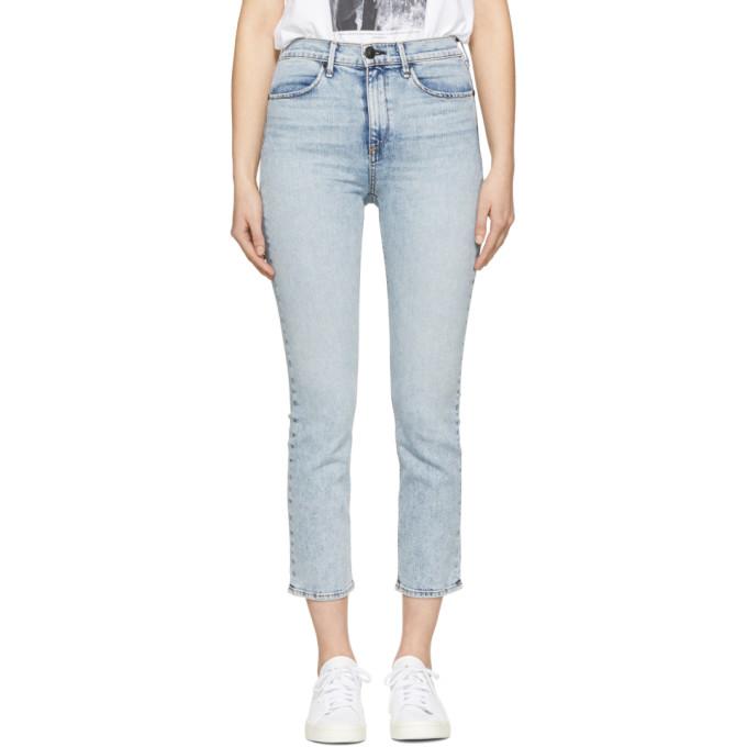 Rag & Bone Blue Cigarette Jeans