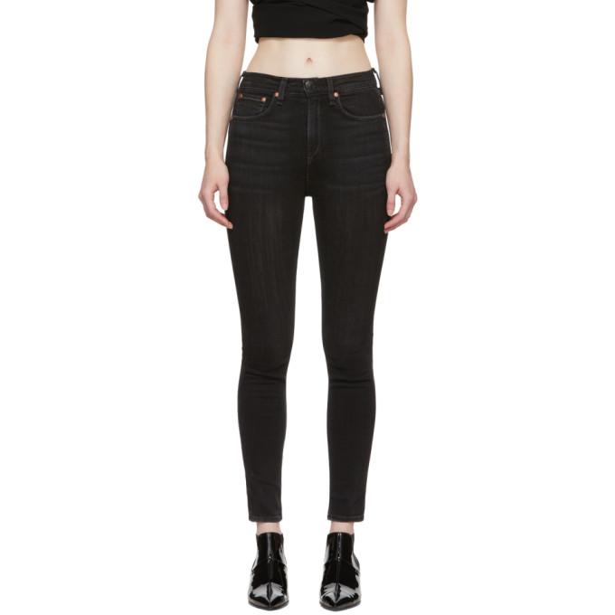 Rag & Bone Black Vintage Skinny Jeans