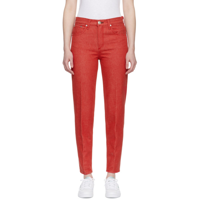 rag and bone Red Ash Jeans