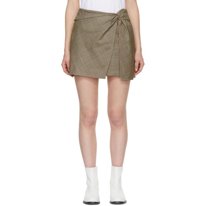 Rag & Bone Multicolor Plaid Logan Miniskirt