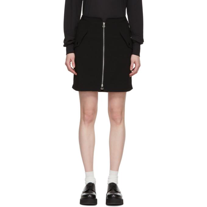 Rag & Bone Black Maverick Miniskirt
