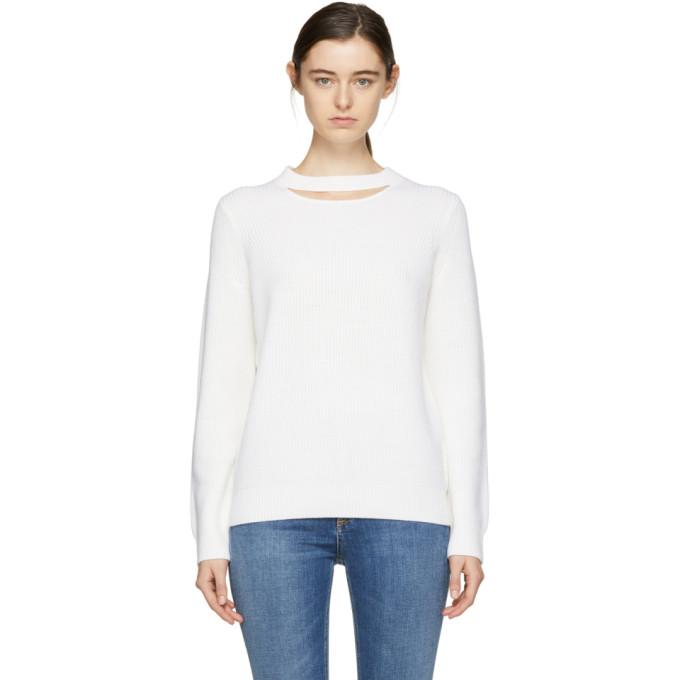 Rag & Bone Ivory Tori Crewneck Sweater