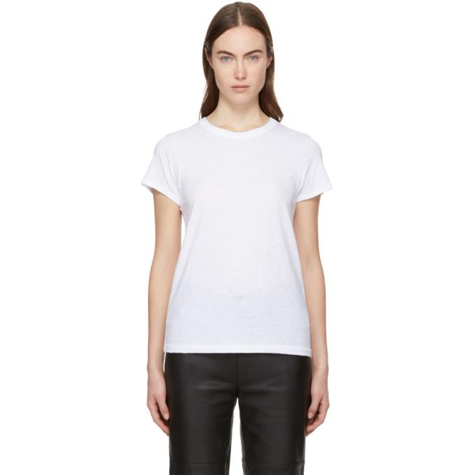Rag & Bone White The Tee T-Shirt