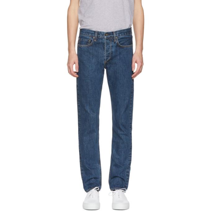Rag & Bone Blue 'Fit 2' Jeans