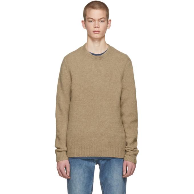ea2e0e596dc rag and bone Tan Merino Charles Sweater