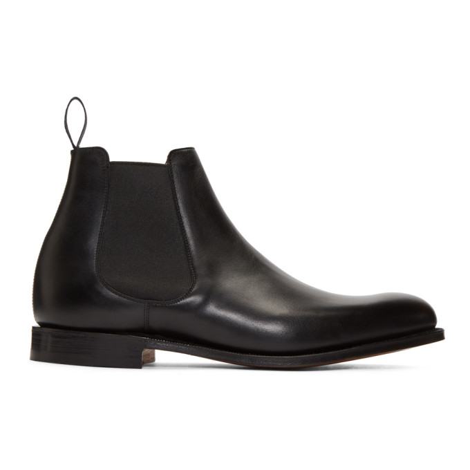 Image of Church's Black Houston Chelsea Boots
