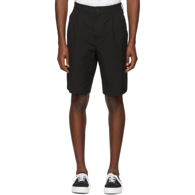 Image of Comme des Garçons Homme Black Twill Shorts