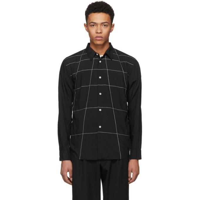 Image of Comme des Garçons Homme Deux Black Lines Shirt