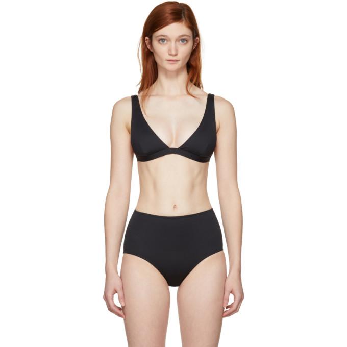 Her Line Haut de bikini noir Audrey