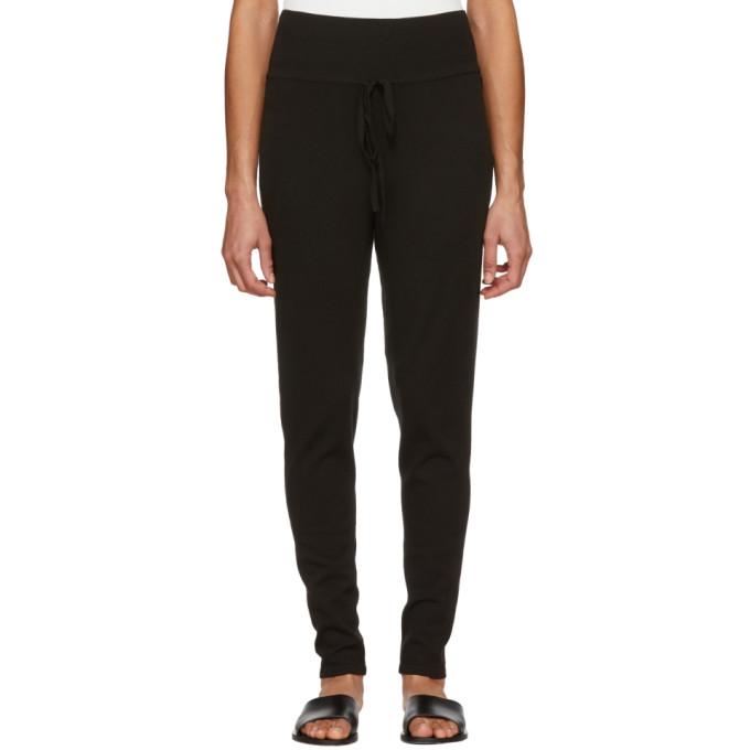 Live the Process Black High-Waisted Drawstring Lounge Pants