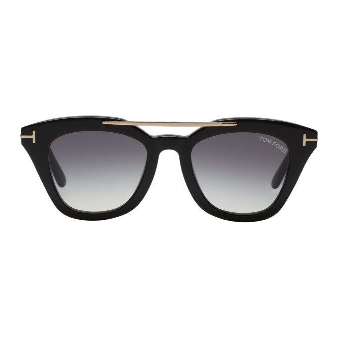 Image of Tom Ford Black Anna Sunglasses