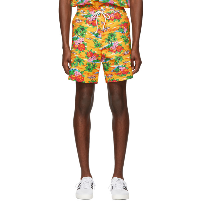 Image of Anton Belinskiy Multicolor Flower Shorts