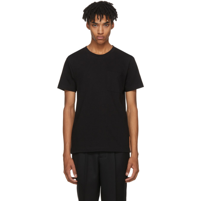 Image of Nudie Jeans Black Kurt Worker T-Shirt