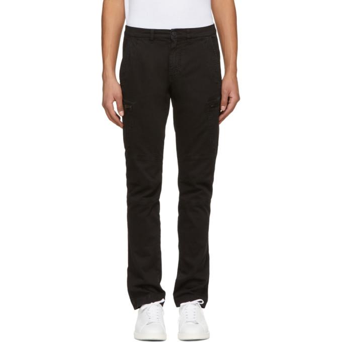 Image of Belstaff Black Larsson Cargo Pants
