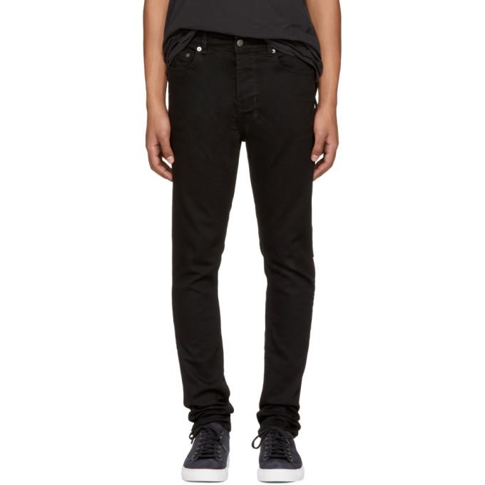 Image of Ksubi Black Chitch Laid Jeans