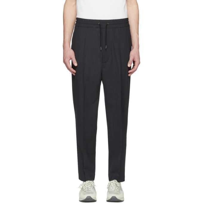 Diesel Black Gold Grey Drawstring Trousers