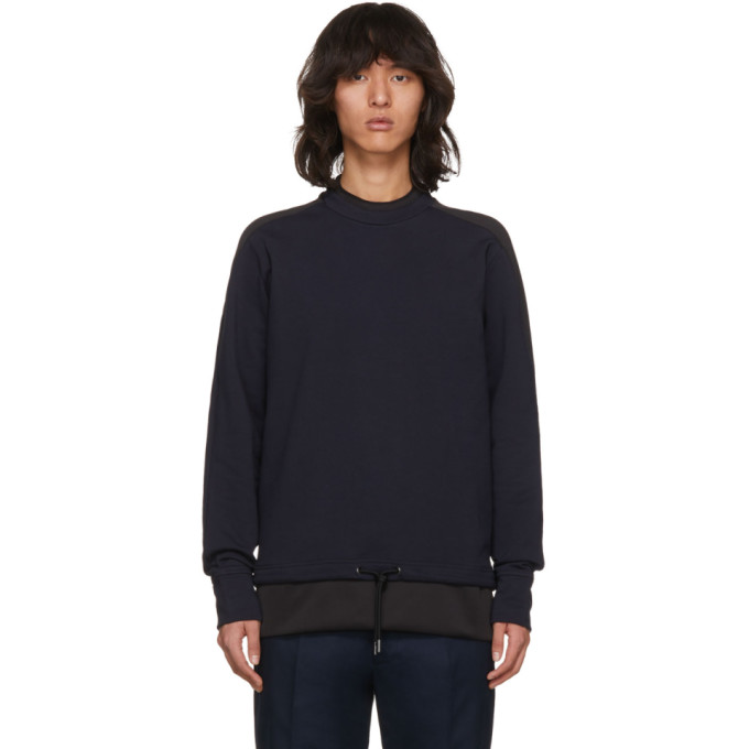 Diesel Black Gold Navy Drawstring Sweatshirt