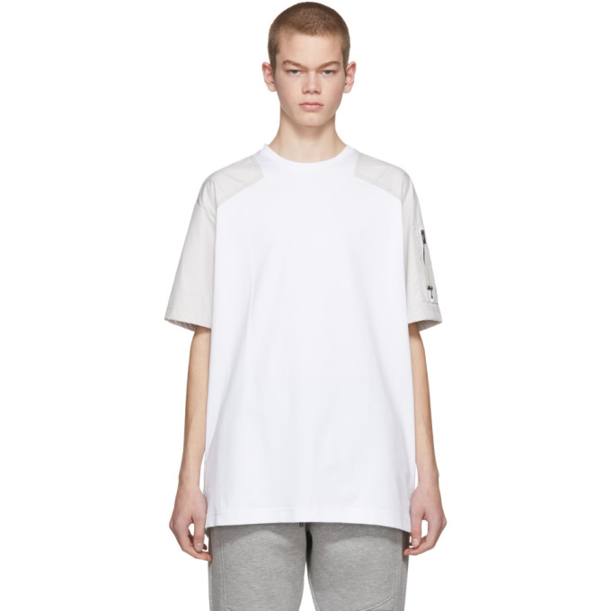 Diesel Black Gold White Utility Pocket T Shirt