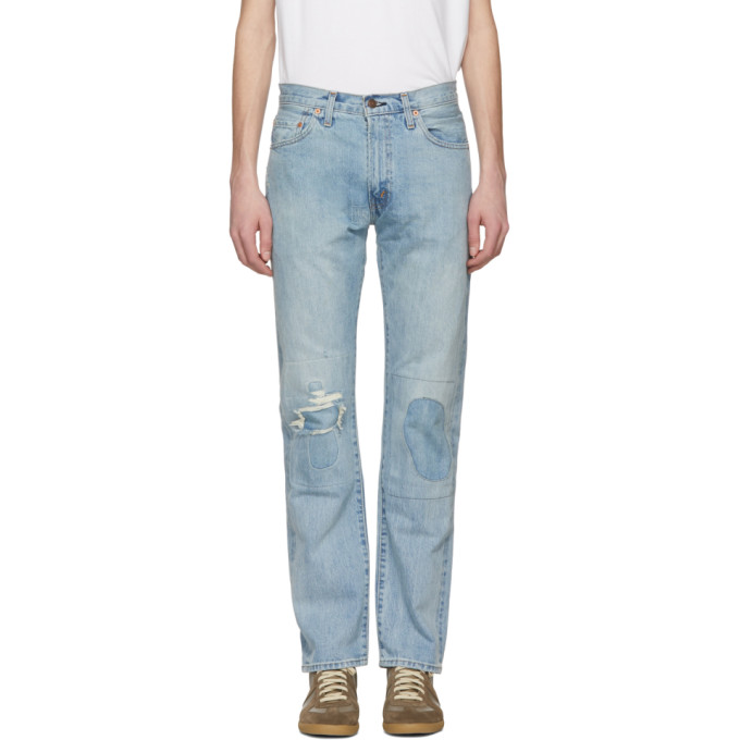 Image of Levi's Vintage Clothing Blue 505 1967Jeans