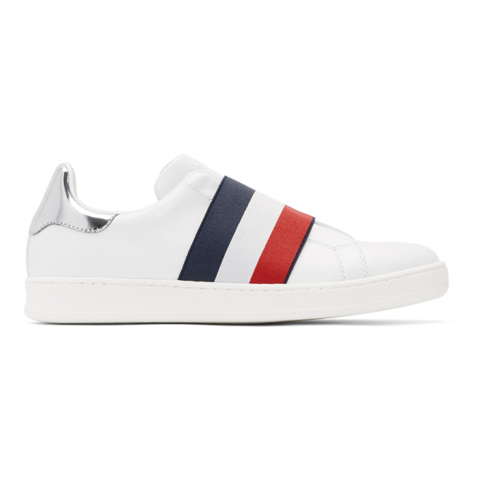 Moncler White Alizee Sneakers