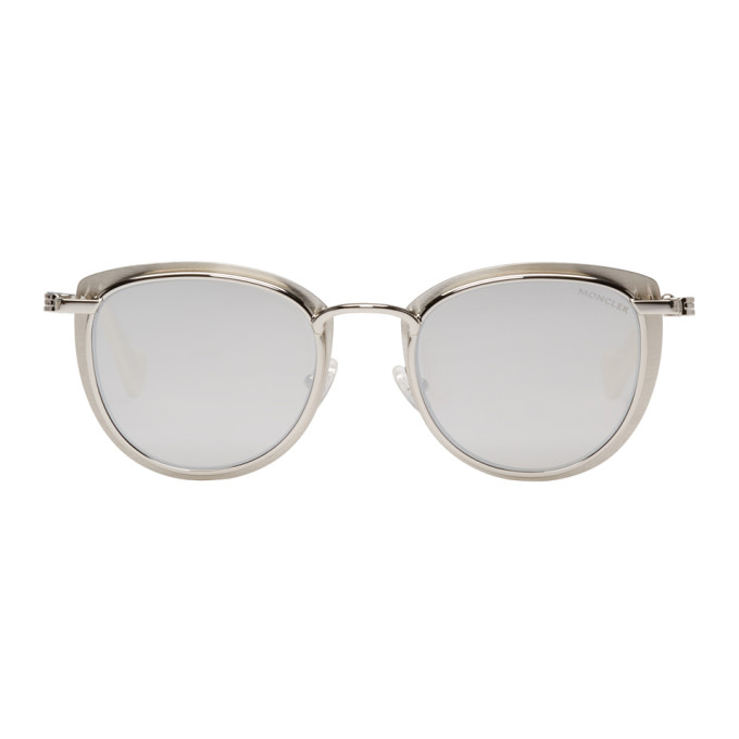 Moncler Silver ML0045 Sunglasses