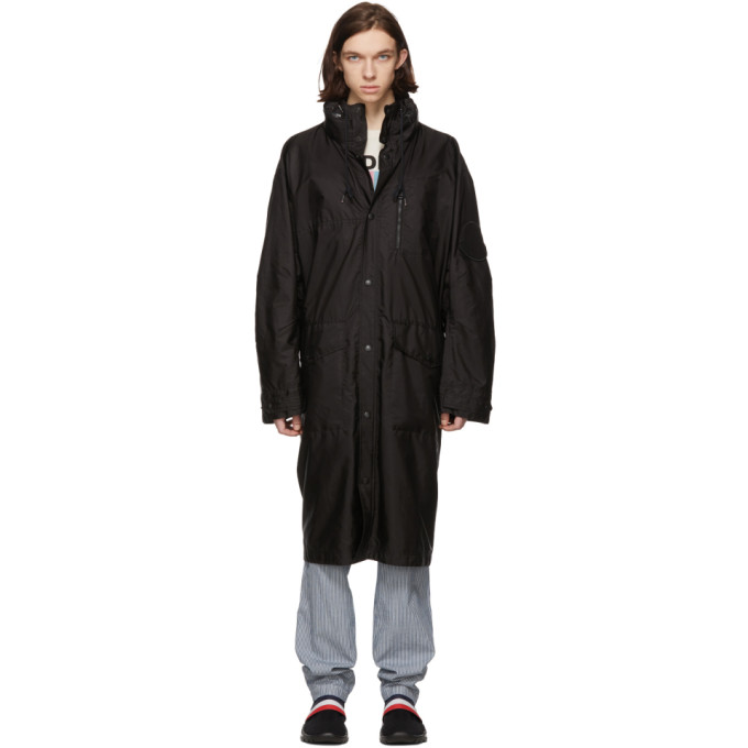 Moncler Black Greg Coat