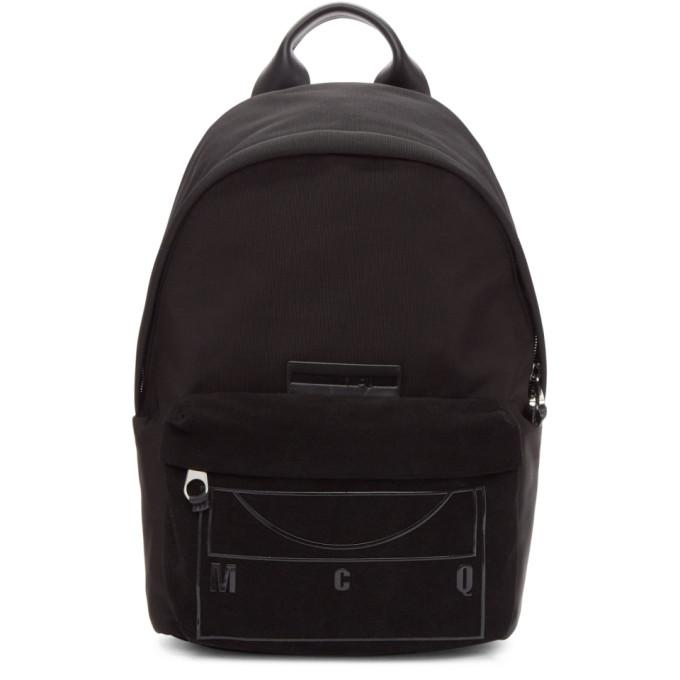 McQ Alexander McQueen Black Classic Backpack