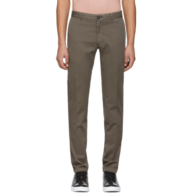 Image of Tiger of Sweden Khaki Rodman Trousers