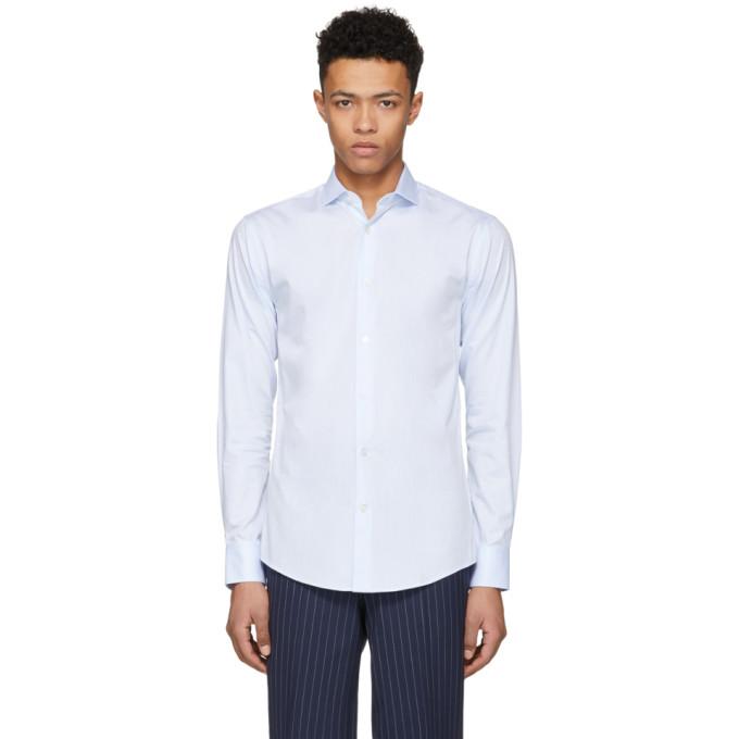 Image of Tiger of Sweden Blue Farrell 5 Shirt