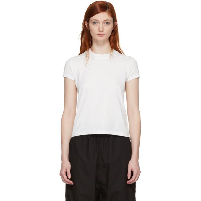 Rick Owens Drkshdw White Short Level T-Shirt